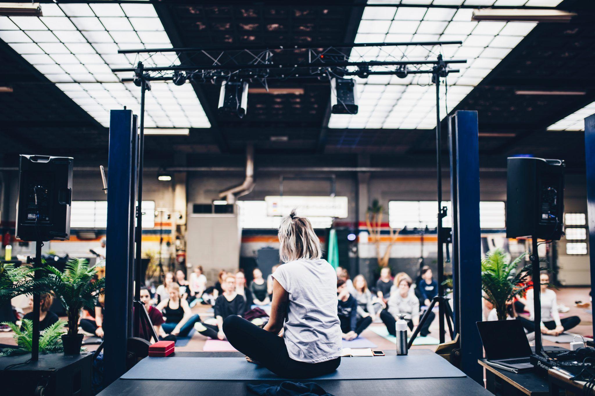 Yoga class Sydney